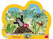 Dino Puzzle Krtek s hrníčkem 25d