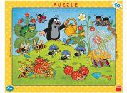 Dino Puzzle Krtek v jahodách 40d