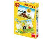Dino Puzzle Krtkův rok 2x48 dílků