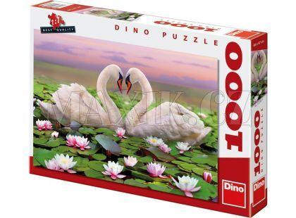 Dino Puzzle Labutě 1000dílků