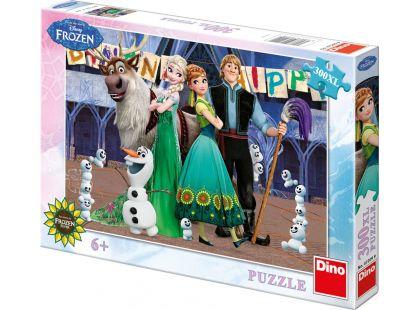 Dino Puzzle Ledové království narozeniny 300XL dílků
