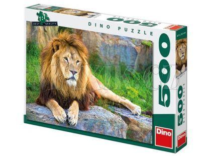 Dino Puzzle Lev 500dílků