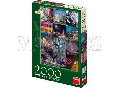 Dino Puzzle Londýn 2000dílků