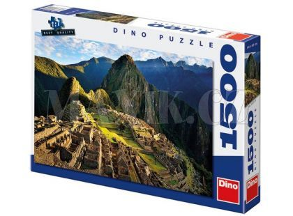 Dino Puzzle Machu Picchu 1500dílků