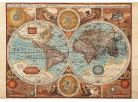 Dino Puzzle Mapa světa z roku 1626 500dílků 2