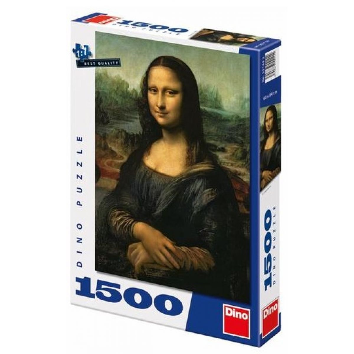 Dino Puzzle Mona Lisa 1500dílků
