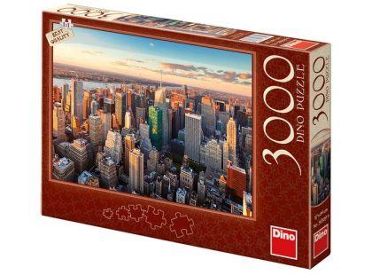 Dino Puzzle Mrakodrapy 3000dílků