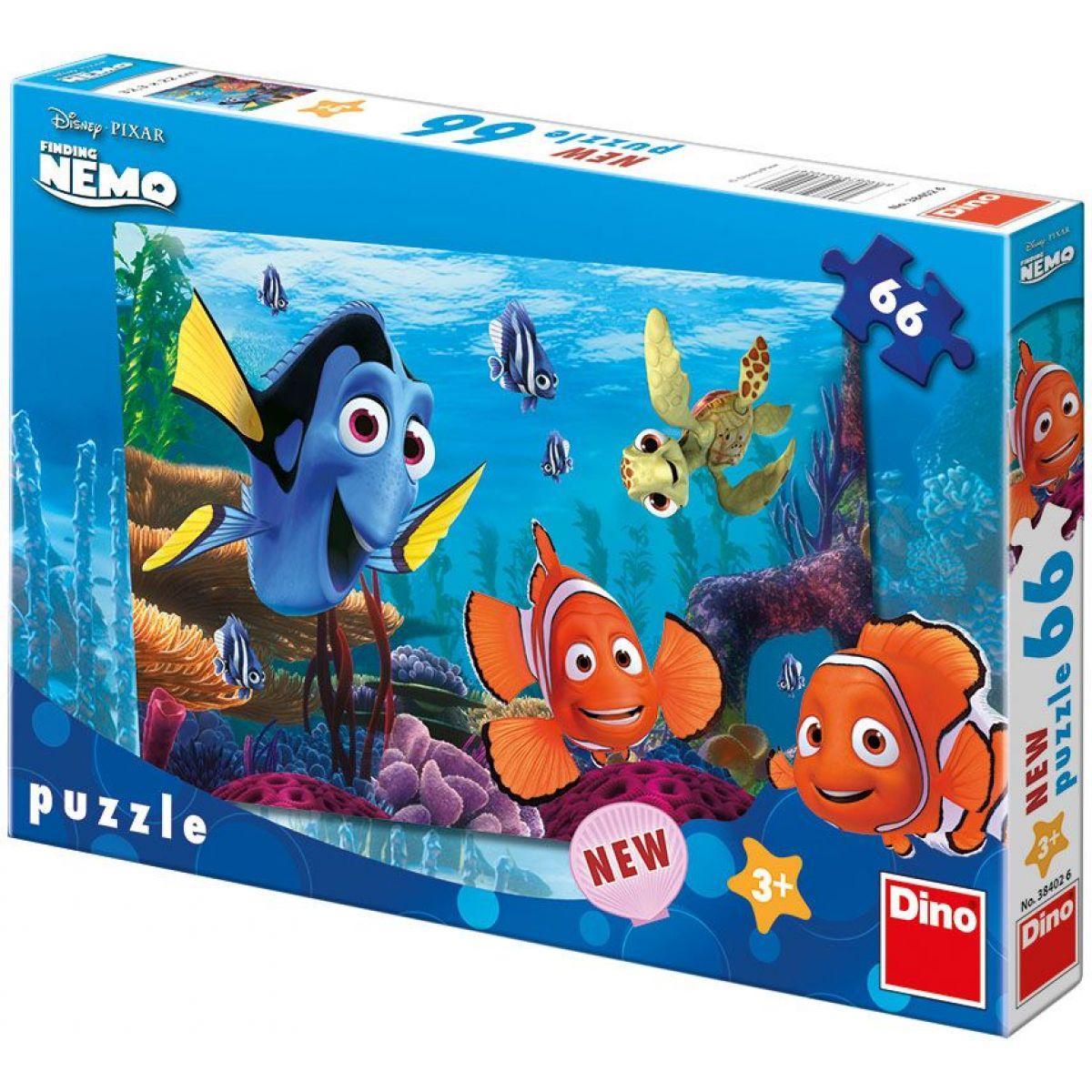 Dino Puzzle Nemo na korálovém útesu 66d