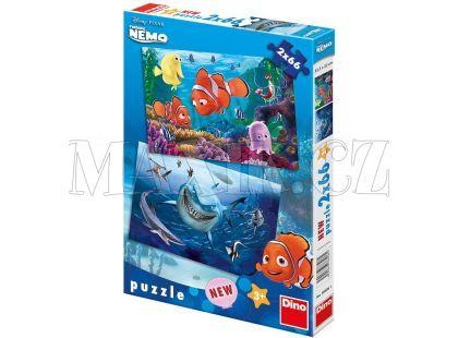 Dino Puzzle Nemo v mořské hlubině 2x66d