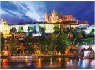 Dino Puzzle Neon Letní noc v Praze 1000dílků 2