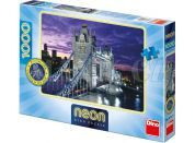 Dino Puzzle Neon Tower Bridge 1000dílků
