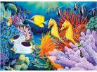 Dino Puzzle Neon Život pod mořem 1000dílků 2