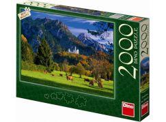 Dino Puzzle Neuschweistein 2000 dílků