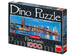 Dino Puzzle Panoramic Brooklynský most 1000d