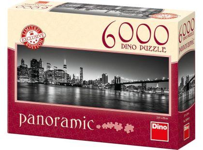 Dino Puzzle Panoramic Noční Brooklyn 6000 dílků