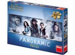 Dino Puzzle Panoramic Piráti z Karibiku 5 1000dílků