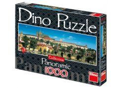 Dino Puzzle Panoramic Pražský hrad 1000dílků