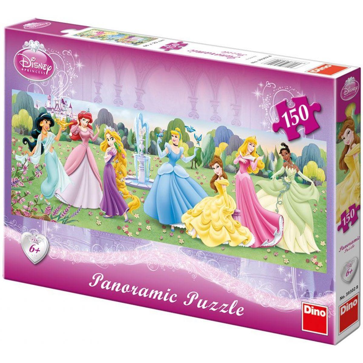 Dino Puzzle Panoramic Princezny 150d