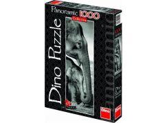 Dino Puzzle Panoramic Sloni 1000 dílků