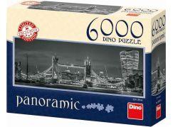 Dino Puzzle Panoramic Světla Londýna 6000 dílků