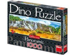 Dino Puzzle Panoramic Vodopády Pongour 1000dílků