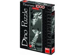 Dino Puzzle Panoramic Žirafy 1000 dílků