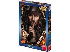 Dino Puzzle Piráti z Karibiku 5 Kapitán Jack 1000dílků