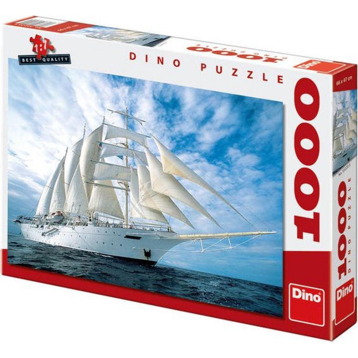 Dino Puzzle Plachetnice 1000dílků