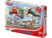 Dino Puzzle Planes 4x54 dílků