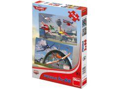 Dino Puzzle Planes Dusty a přátelé 2x66 dílků