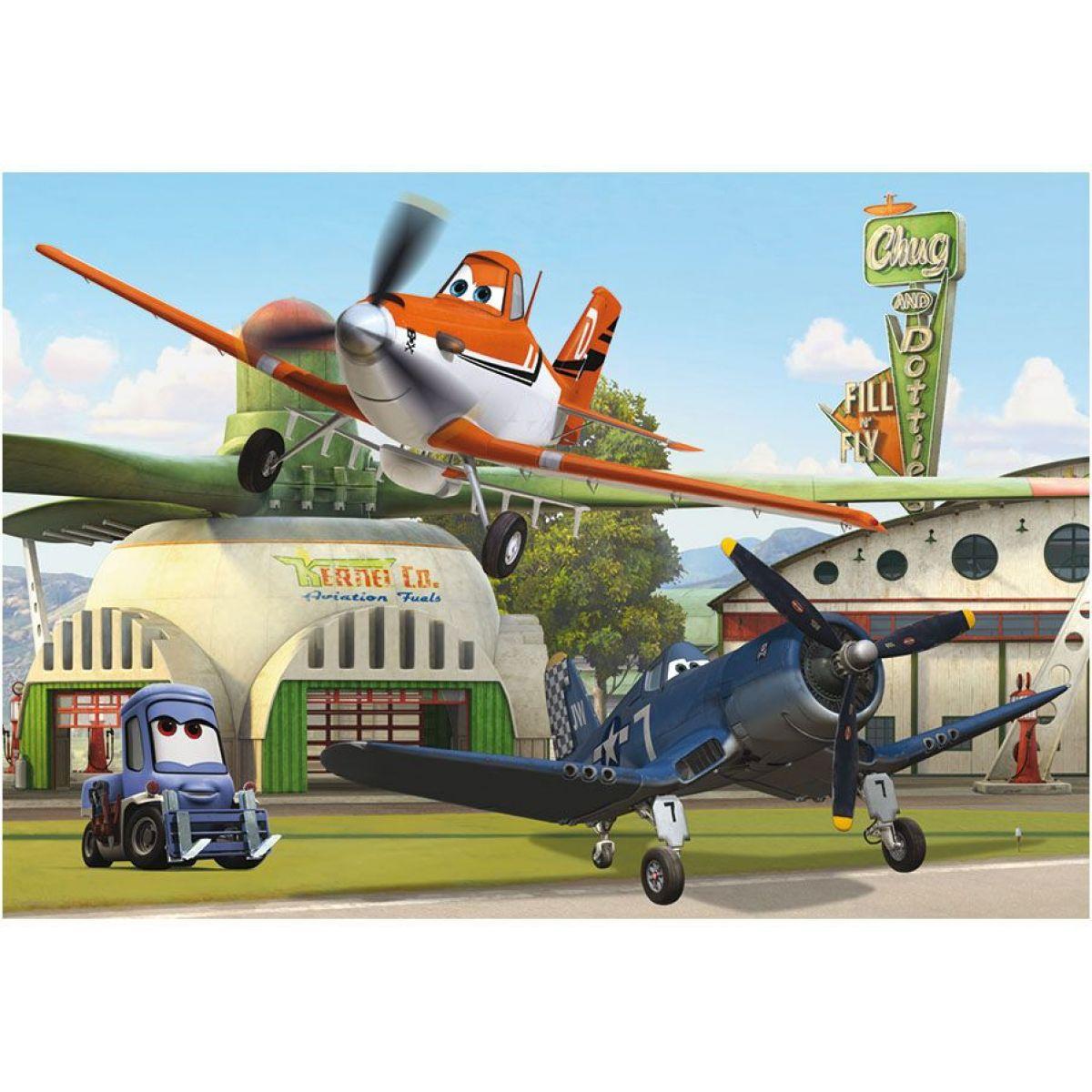 Dino Puzzle Planes U hangáru 24d #2
