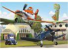Dino Puzzle Planes U hangáru 24d 2