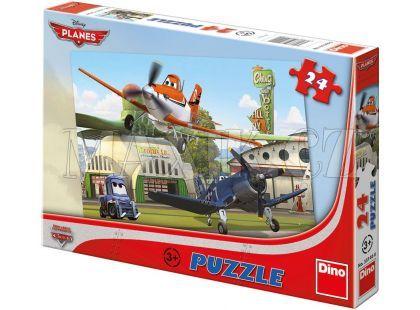 Dino Puzzle Planes U hangáru 24d