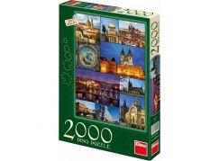 Dino Puzzle Praha 2000 dílků - poškozený obal
