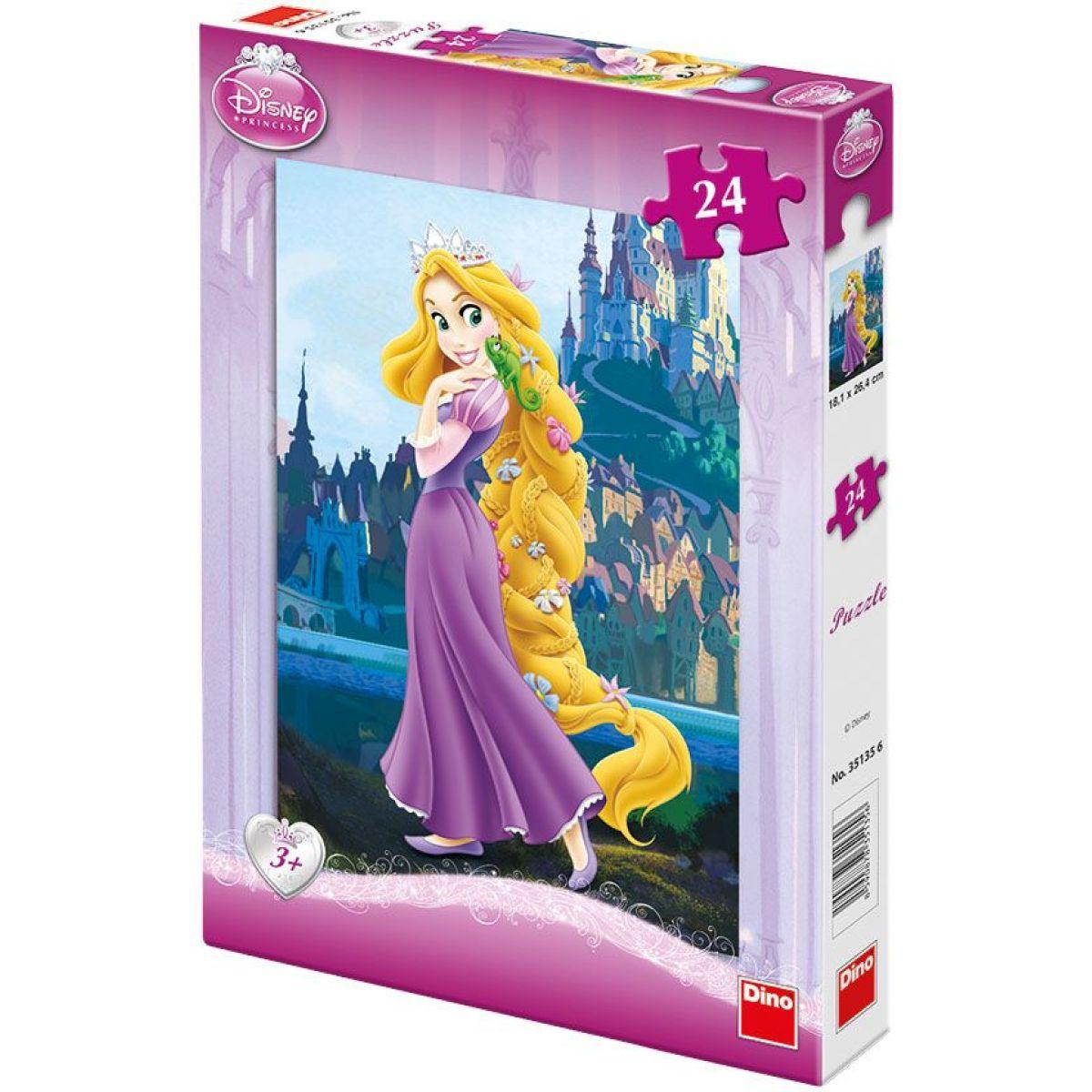 Dino Puzzle Princezna na vlásku 24d
