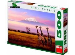 Dino Puzzle Safari 500 dílků
