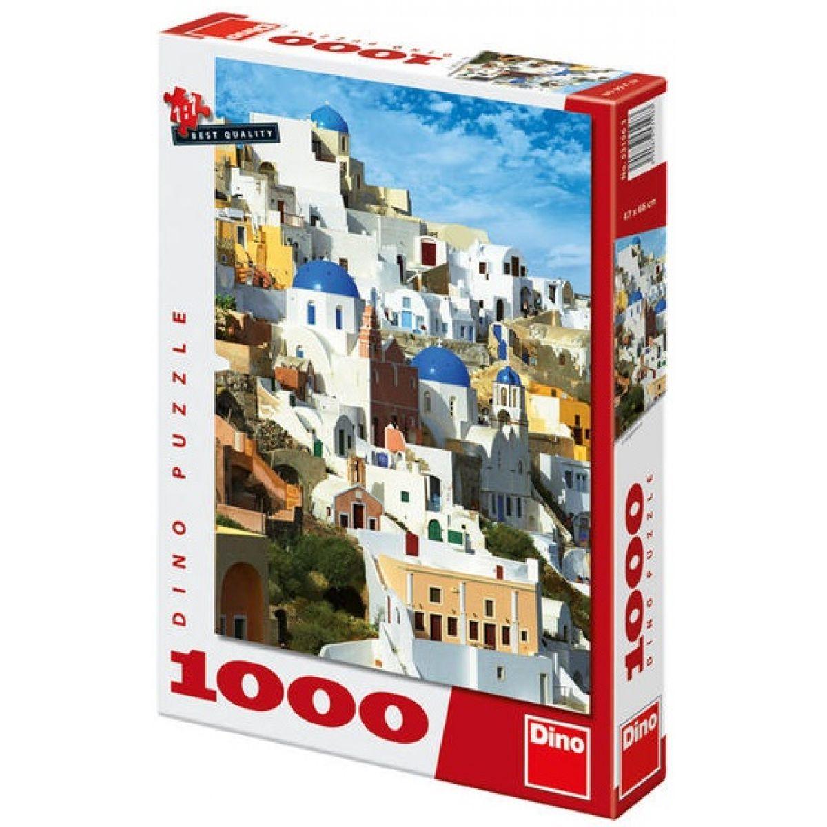 Dino Puzzle Santorini 1000dílků