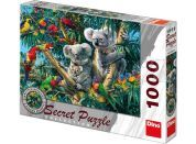 Dino Puzzle Secret Collection Koaly 1000dílků