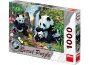 Dino Puzzle Secret Collection Pandy 1000dílků