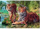 Dino Puzzle Secret Collection Tygři 1000dílků 2