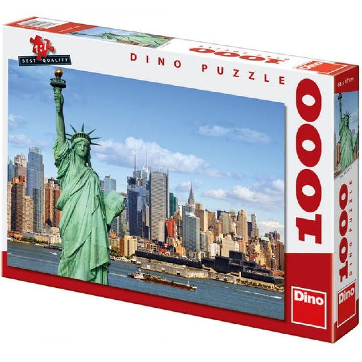 Dino Puzzle Socha Svobody 1000dílků