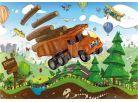 Dino Puzzle Tatra na cestách 100XL dílků 2