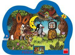 Dino Puzzle Večer u Krtečka 25d