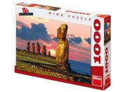 Dino Puzzle Velikonoční ostrovy 1000dílků
