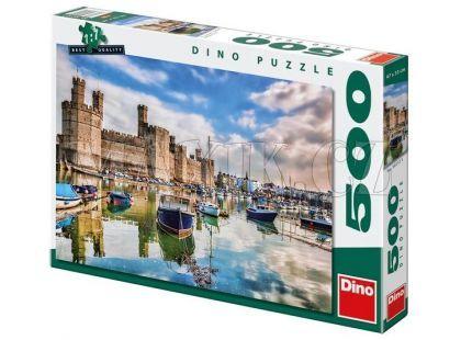 Dino Puzzle Velšský hrad 500dílků