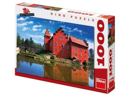 Dino Puzzle Zámek Červená Lhota 1000dílků