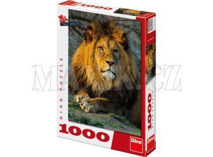 Dino Puzzle Zamyšlený lev 1000dílků