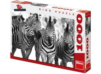 Dino Puzzle Zebry 1000 dílků