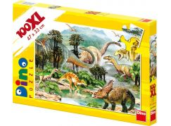 Dino Puzzle Život dinosaurů 100d XL