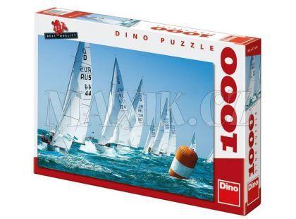 Dino Puzzle Závodní plachetnice 1000dílků